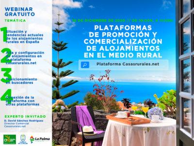 Plataformas de promoción y comercialización de alojamientos en el medio rural: CasasRurales.net